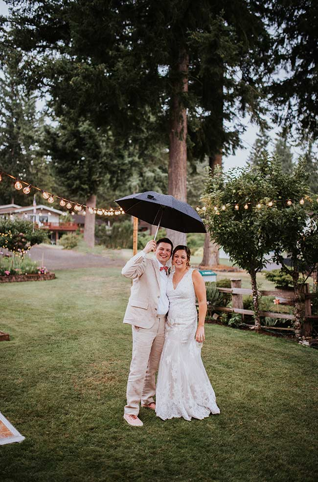 Josh and Jessica wedding day.